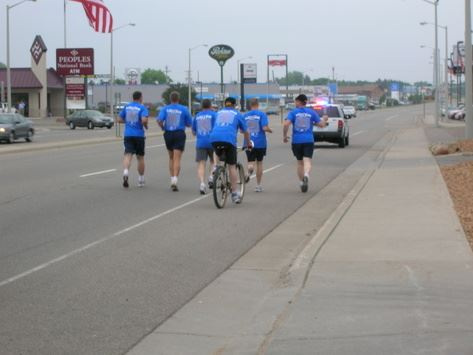 Local Law Enforcement Officers Participating in the 2009 Torch Run